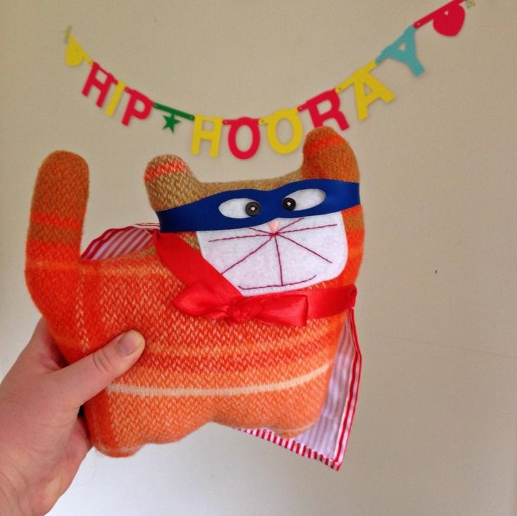 Super kitty from Emma Makes - email emma dot mccleary at gmail dot com for details.