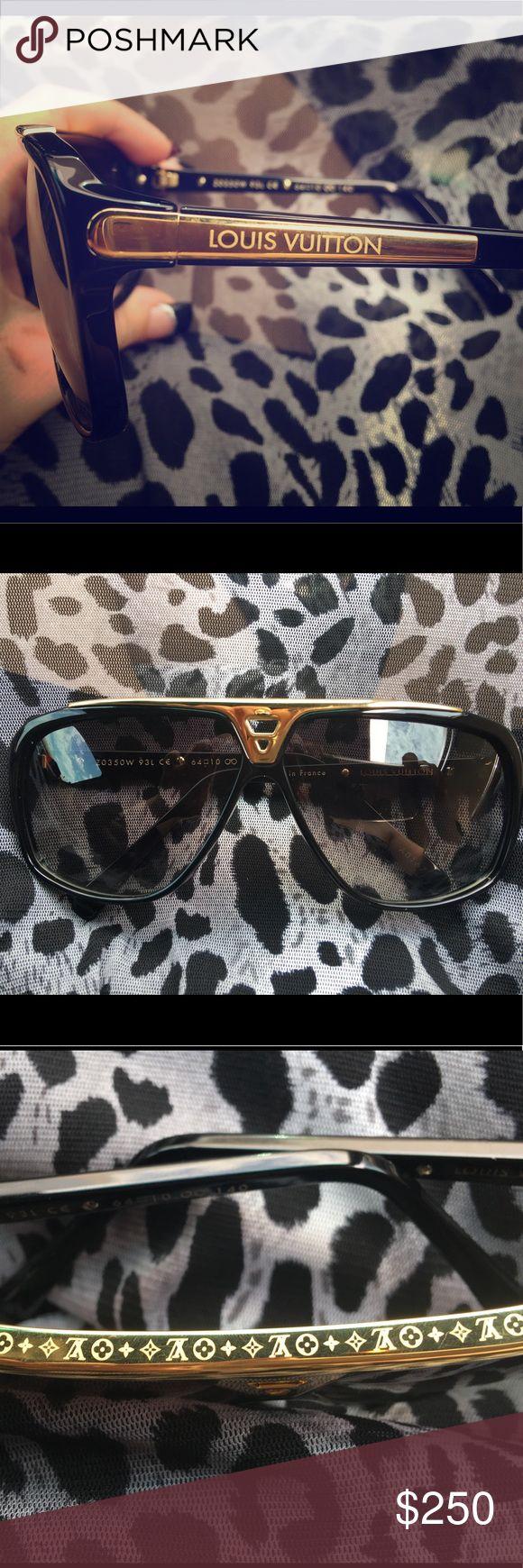 Louis Vuitton Evidence sunglasses Louis Vuitton Evidence sunglasses BRAND NEW (glasses only) Perfect condition, not one scratch From the Louis Vuitton store Retail $800 Louis Vuitton Accessories Sunglasses