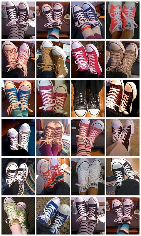 So many cute converse! Ill take them all #chucktaylors