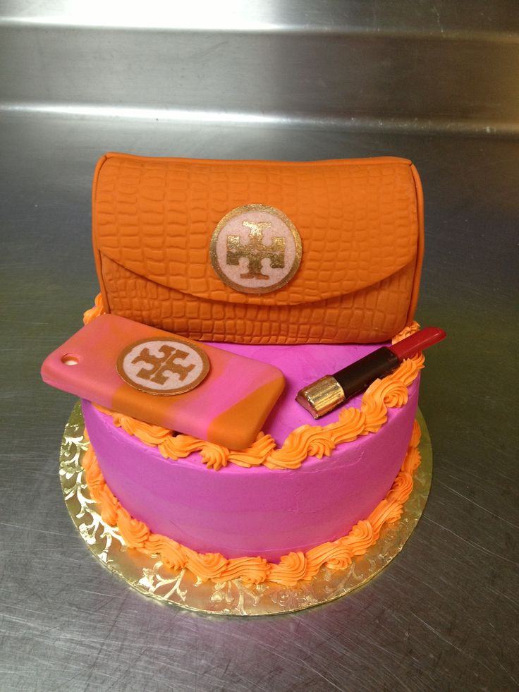 Hand Made Tory Burch Birthday Cake By Haute Chocolate