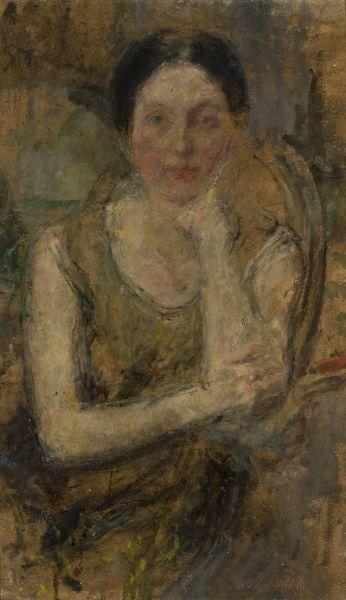 Portret Marii Pfitzner - Olga Boznańska