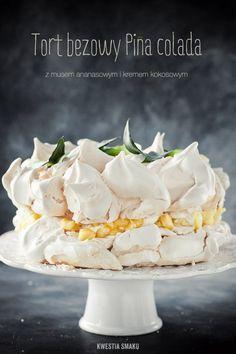 Tort bezowy Pina Colada