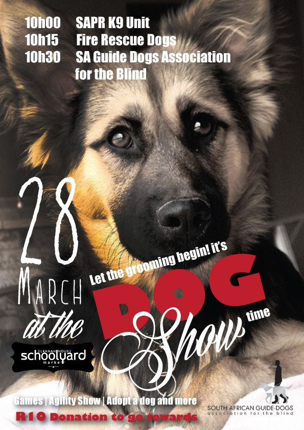 Schoolyard Market this Saturday. Don't miss the Dog Show.