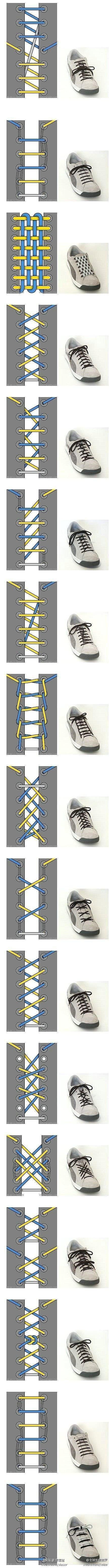 17 shoelaces ideas