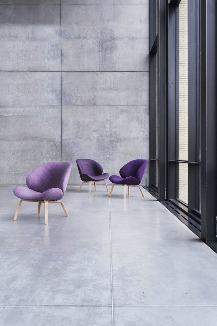 Felt armchair EDEN by SOFTLINE | design Busk   Hertzog