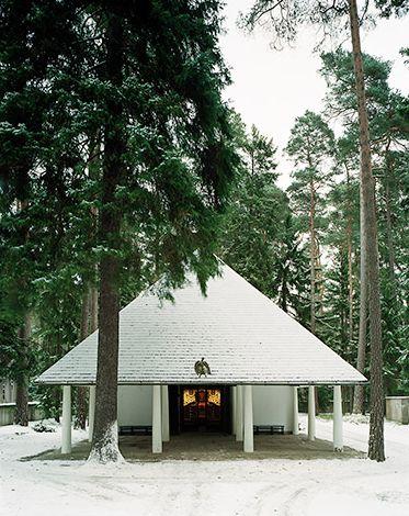 Woodland chapel - Erik Gunnar Asplund