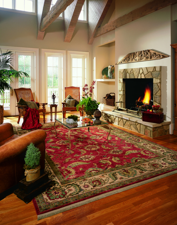 246 best images about area rugs on pinterest modern - Decorating with area rugs ...