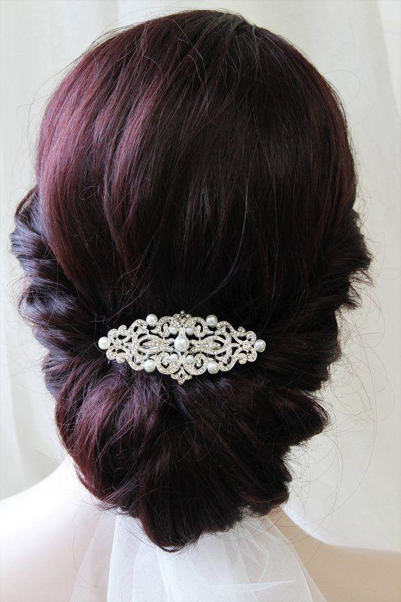 Bridal Headpiece Vintage Style Bridal Hair Comb Wedding Bridal Headpiece Vintage Crystal Headpiece Crystal Hair Comb