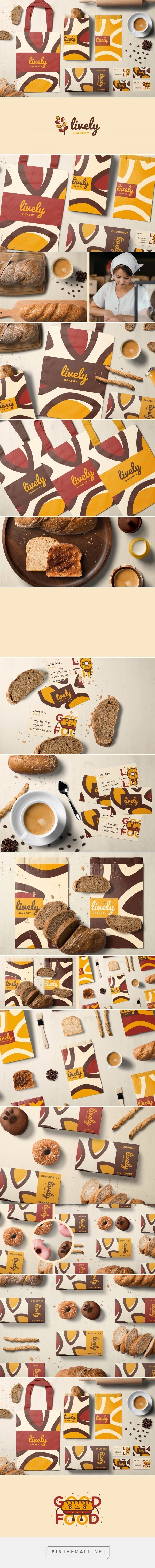 Lively Bakery and Cafe Branding by Rico John Jambaro | Fivestar Branding Agency – Design and Branding Agency & Curated Inspiration Gallery