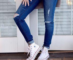 Weiße Sneaker effektiv reinigen - so geht's!