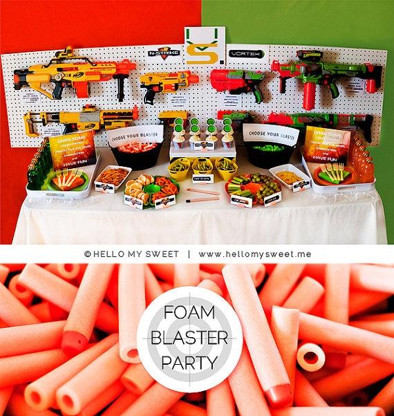 36 Best Jaden's Nerf Party Images On Pinterest