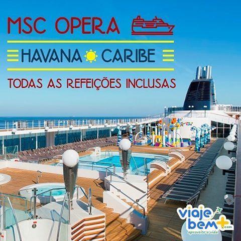 Aproveite essa promoção incrível para fazer uma viagem para o Caribe no Cruzeiro MSC Opera. São tantas opções de diversão que você vai ficar louco pra comprar o seu pacote. #viajebemmais #viagens #trip #destinos #caribe #mscopera #jamaica #mexico #cuba #ilhascayman
