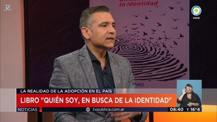 """H.Macchiavelli sobre su libro """"Quién soy"""", en """"TV Pública Noticias"""" con ..."""