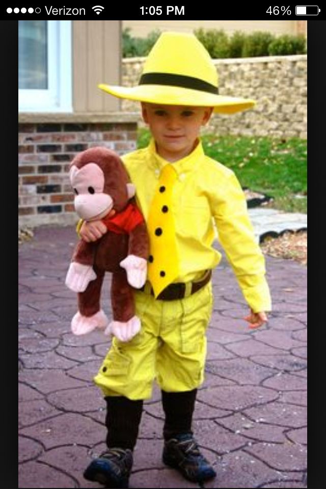 Curious George… Why didn't I think of that this year???