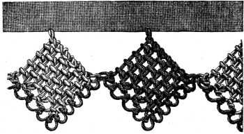 Armenian Lace - from ENCYCLOPEDIA OF NEEDLEWORK BY THÉRÈSE DE DILLMONT 1884 (click on Armenian lace in table of contents) http://www.gutenberg.org/files/20776/20776-h/needlework-h.html