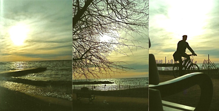 Toronto beaches, winter 2012