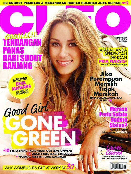 CLEO Indonesia June 2014 - #LaurenConrad