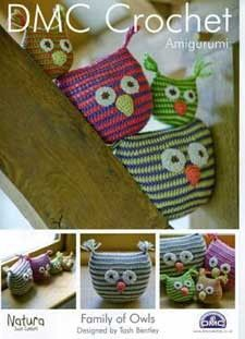 Family Of Owls Pattern