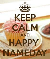 Happy name day