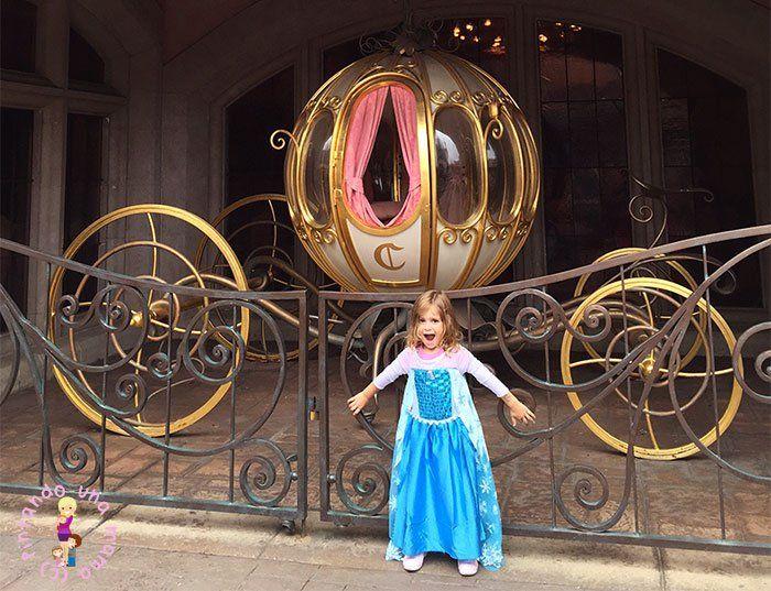 La Carroza de Cenicienta en Disneyland París