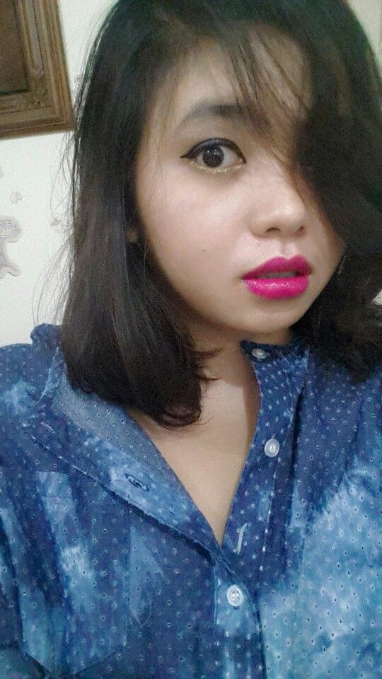 YSL lipstick.. rouge velvet couture...
