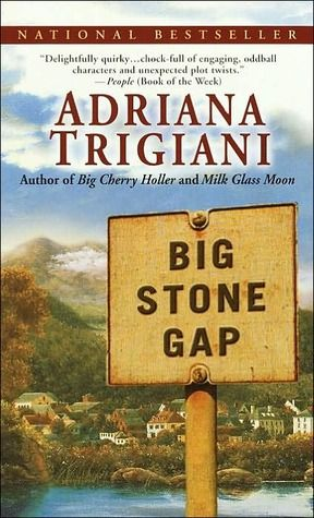 Big Stone Gap. The first in a series of four books by Adriana Trigiani. Wonderful characters abound in this book about the south.