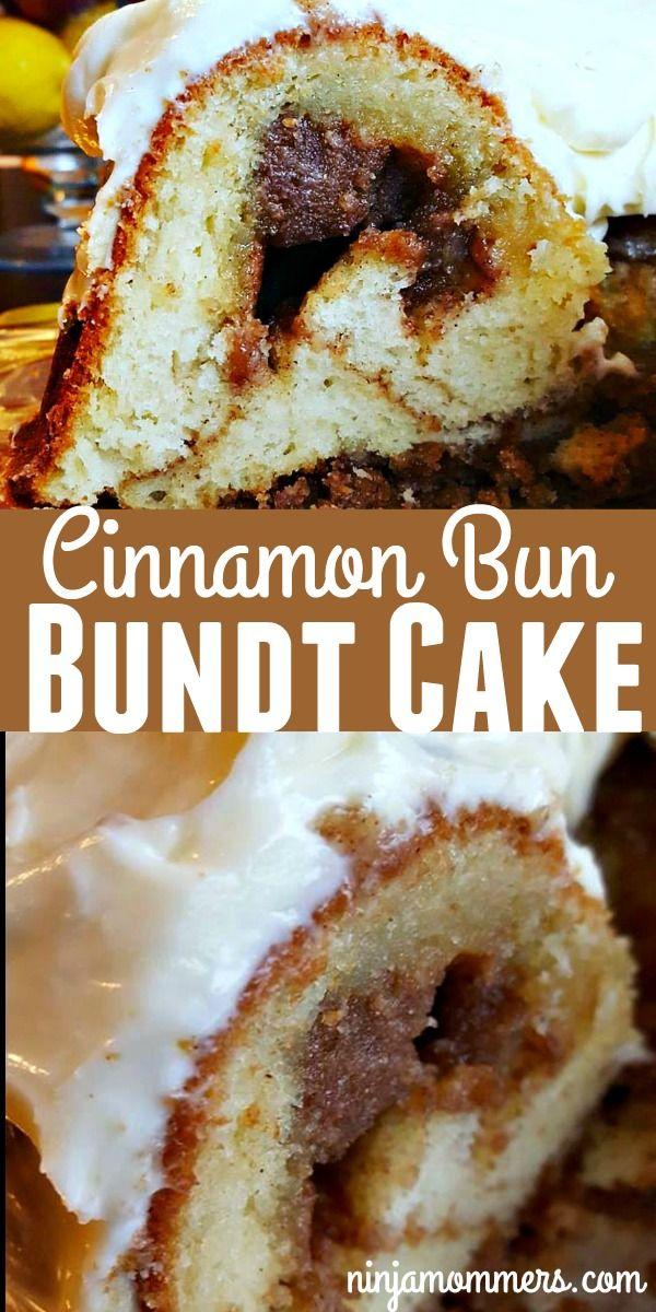 Cinnamon Bun Bundt Cake - Not Your Normal Coffee Cake