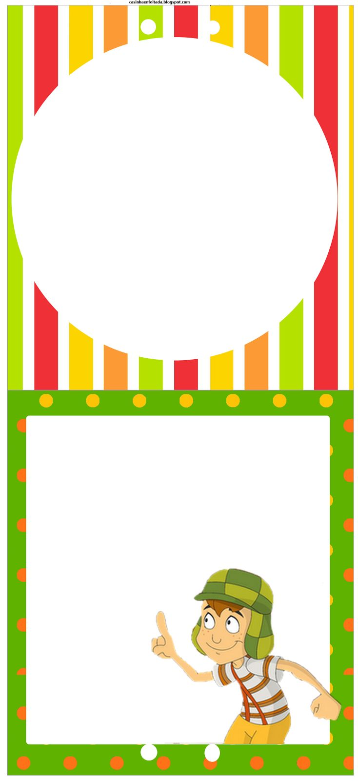 Casinha de Criança: Kit Festa do Chaves Para Imprimir
