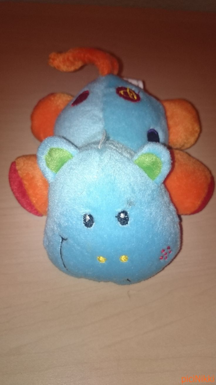 No. 366   víziló   hippo   plüss   plush   csörgő   rattle