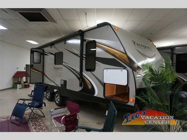 2016 New Keystone Passport 23RB Elite Travel Trailer in Maryland MD.Recreational Vehicle, rv,