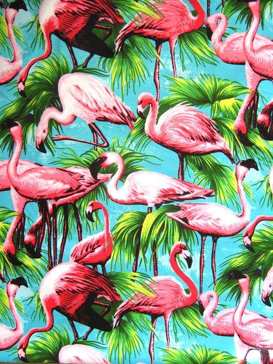 #pattern #flamingo Encontrado en americanapparel.tumblr.com