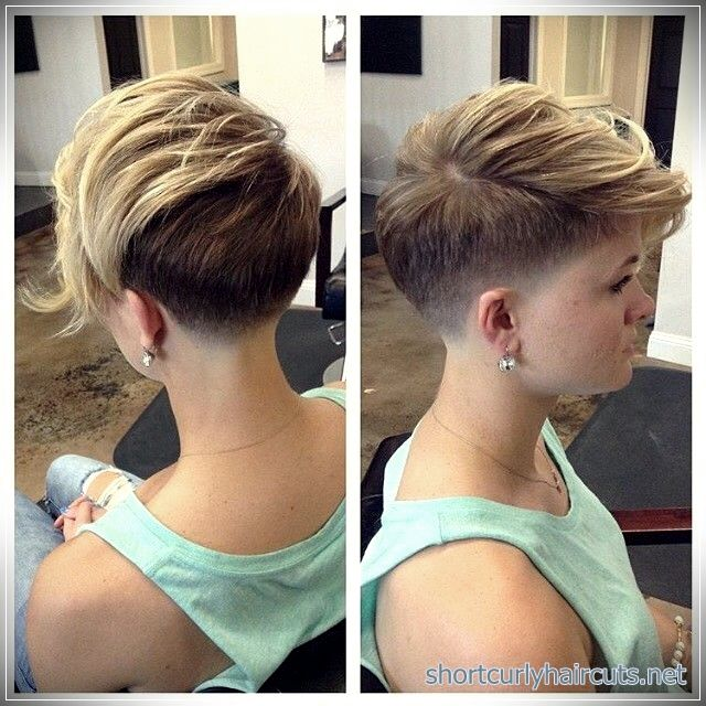 Short Haircuts For Fine Hair Will Dramatically Change Your Apperance Short Hair Undercut Very Short Hair Short Hair Styles