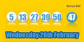 Here are tonight's Health Lottery results, remember if you match two you will get a free ticket for the next one! http://health-lottery.org/health-lottery-results-26th-february/ #lottery #healthlottery
