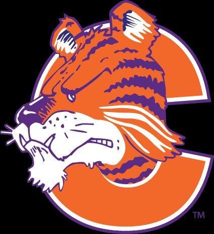 Clemson mascot logo 1978-1992
