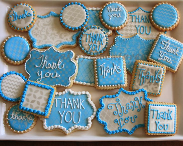 Thank You For Baking: Cupcake Adventures: Thank You Cookies