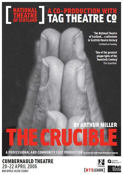 How do you write a movie review ? about the movie The Crucible?