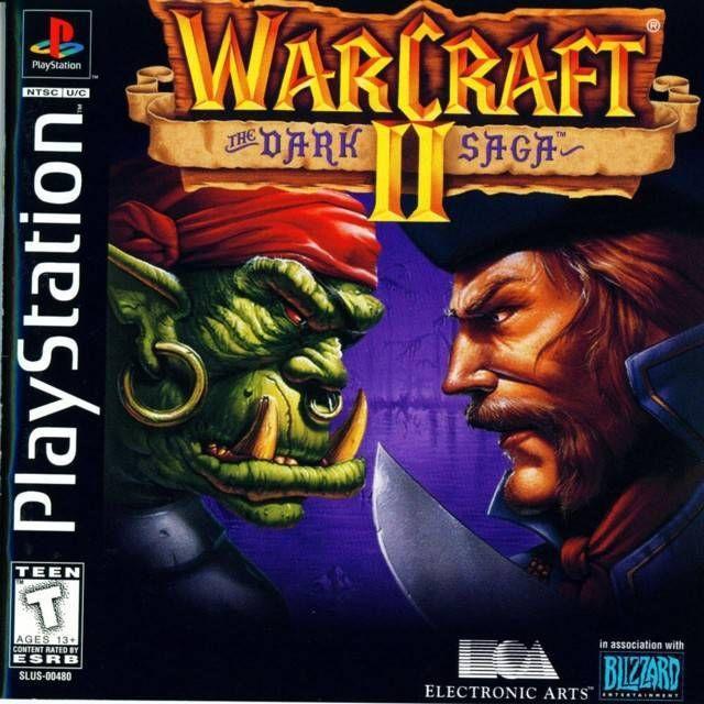 Warcraft Ii The Dark Saga Playstation Warcraft Ii Warcraft 2 Warcraft
