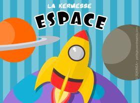 Jeu de kermesse à imprimer : Espace
