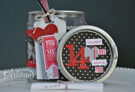 Artisan Wednesday Wow ~ 14 things I love about you ~ Sleepless Stamper