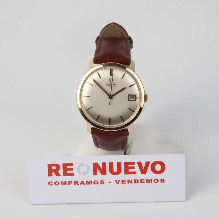 Reloj vintage OMEGA automático de oro de segunda mano 18 kts E267943A