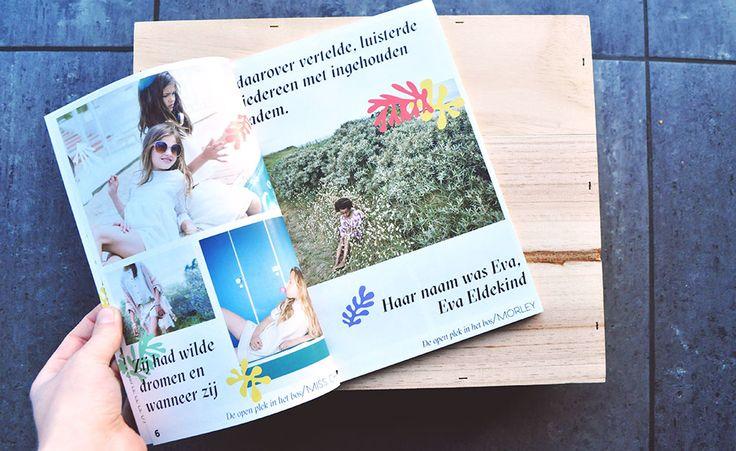 Reis door het sprookjesbos campagne chloe janssens grafisch ontwerp