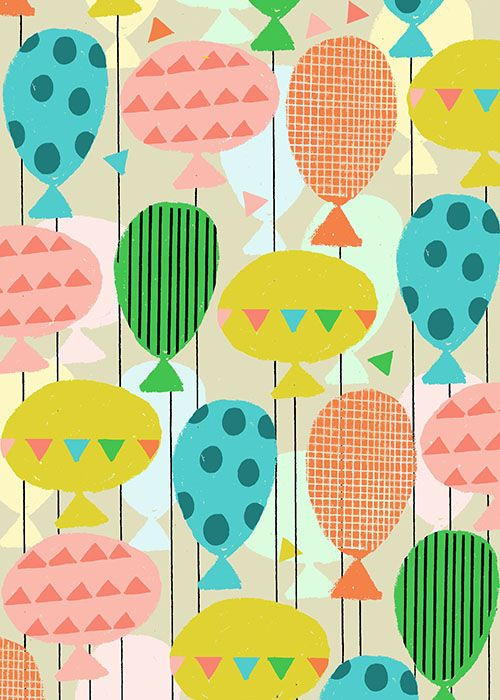 CarolRobinson...cute print for a kids playroom