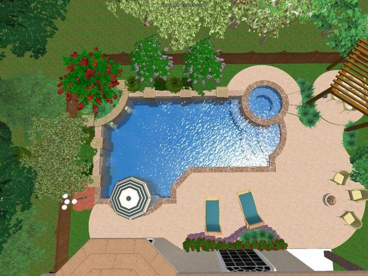 920 best Pools images on Pinterest | Back garden ideas, Garden ideas ...