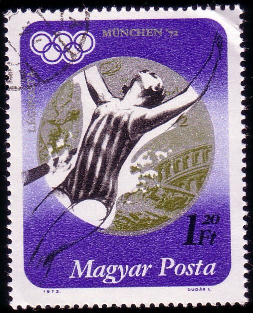 Stamp from Hungary | Munich 1972, Olympic Games