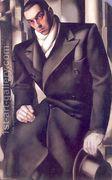 Portrait of a Man or Mr Tadeusz de Lempicki, 1928  by Tamara de Lempicka (inspired by)