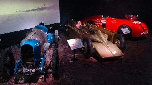 The four world record breakers at the National Motor Museum