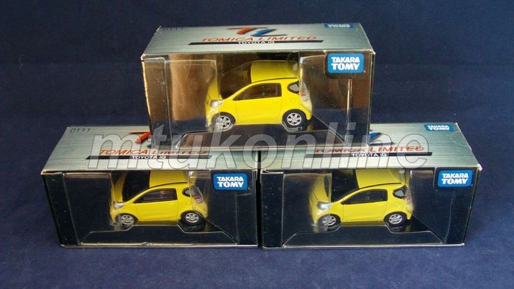 TOMICA TL 111 | TOYOTA iQ 2008 | 1/60 | YELLOW | ST 2009 BOX | SELL AS LOT
