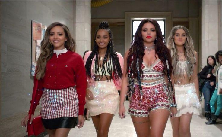 """Veja os bastidores do clipe de """"Black Magic"""", do Little Mix"""