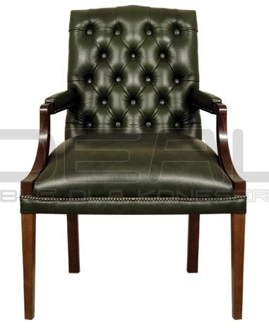 zielony fotel chesterfield, green chesterfield, pluszowy fotel chesterfield, velvet chesterfield, styl angielski, armchair   fotel_chesterfield_president_01.jpg (381×471)