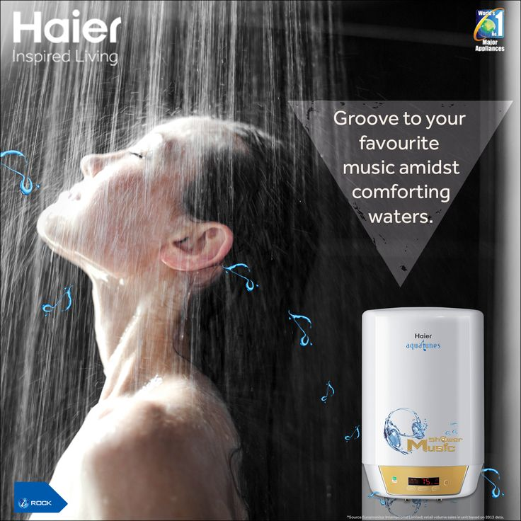 India's First #Musical #WaterHeater by #Haier is equipped with smart memory that offers you comfort even during power cuts!